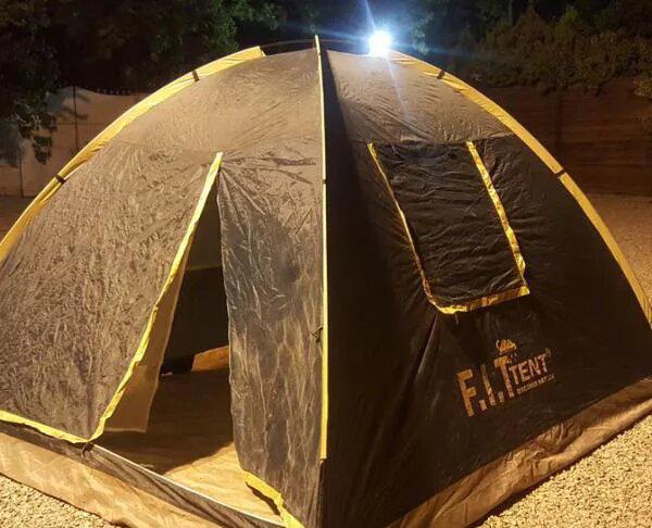 چادر کوهنوردی ۶ به علاوه ۲ مناسب کمپینگ و تِرَکینگ