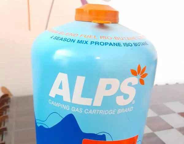 کپسول گاز ۴۵۰ گرمی آلپس