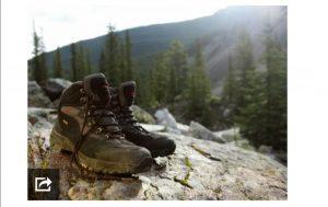 یک نمونه دیگر از کفش های مناسب کوهنوردی
