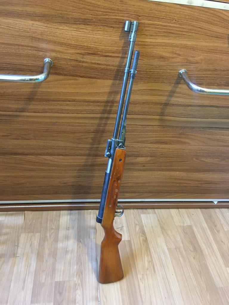 تفنگ بادی زیربازشو 4.5